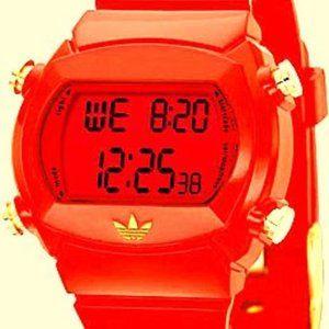 Adidas Men's ADH6061 Red Candy Digital Watch